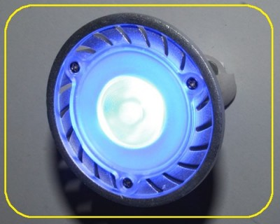 1 Watt High Power LED, MR16, 38 °, blau – Bild 3