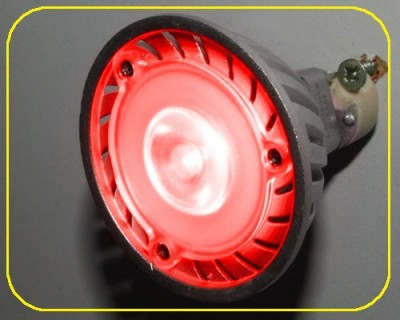 1 Watt High Power LED, MR16, 38 °, rot – Bild 4