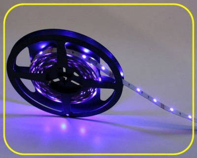 LED Strip 10 cm 3 RGB LEDs 12V 0,72W IP20 – Bild 1