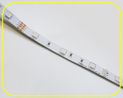LED Strip 10 cm 3 RGB LEDs 12V 0,72W IP20 – Bild 3