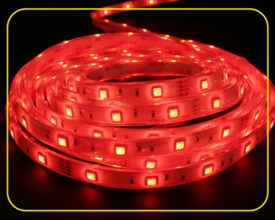 RGB LED Strip Rolle 5 m 150 SMDs 24 V 36 W IP67 – Bild 2