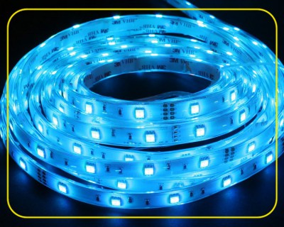 RGB LED Strip Rolle 5 m 150 SMDs 24 V 36 W IP67 – Bild 3