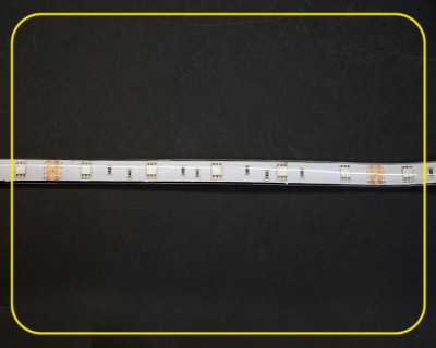 RGB Strip 16,67 cm 5 SMDs 24V 1,2W IP65 – Bild 4
