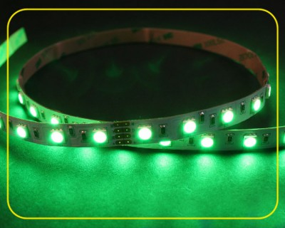 RGB LED Strip 10 cm 6 SMDs 24V 1,44W IP20 – Bild 2