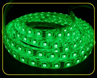 RGB LED Strip 10 cm 6 SMDs 24V 1,44W IP65 – Bild 2