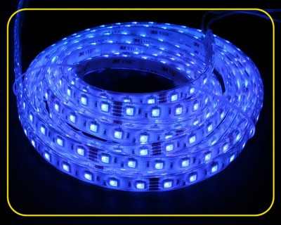 RGB LED Strip 10 cm 6 SMDs 24V 1,44W IP65 – Bild 3