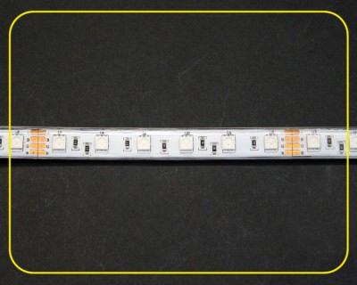 RGB LED Strip 10 cm 6 SMDs 24V 1,44W IP65 – Bild 4
