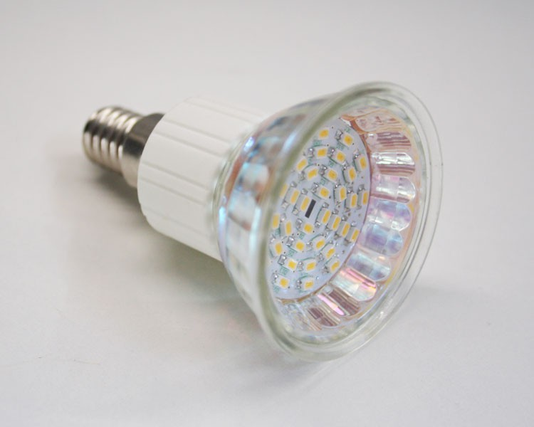 reflektor spot e14 led 2 watt warmwei 4050. Black Bedroom Furniture Sets. Home Design Ideas